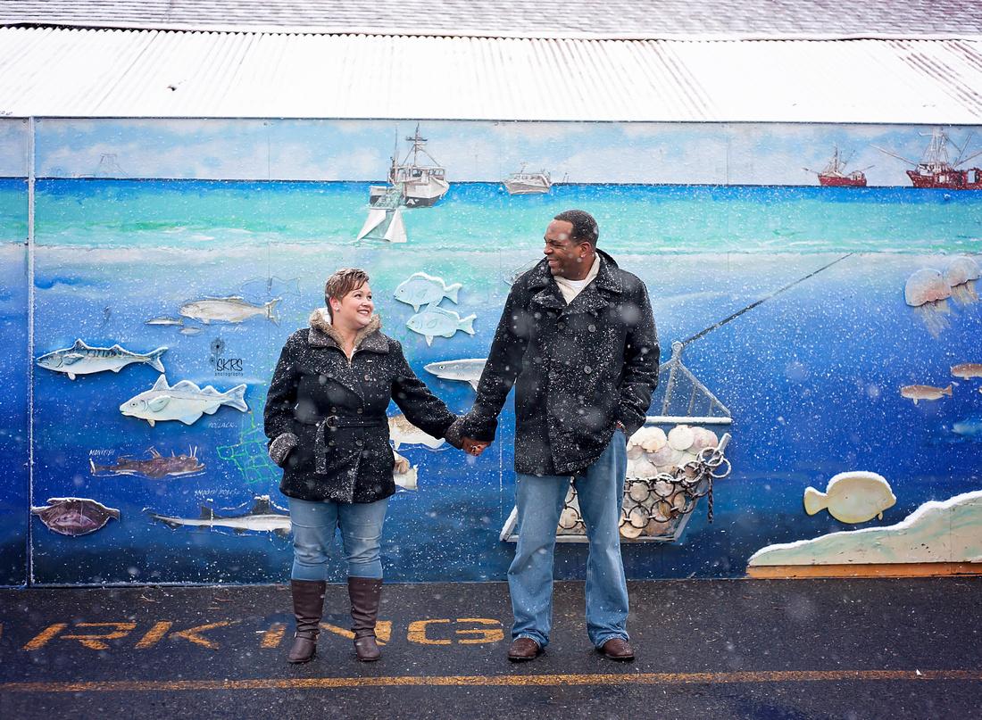 Long Beach Island engagement session